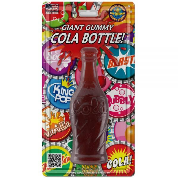 Giant Cherry Cola Gummy Bottle