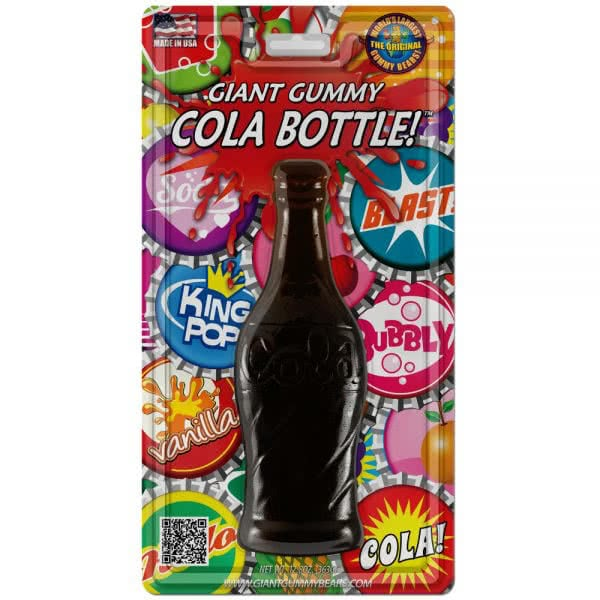 Giant Root Beer Gummy Cola Bottle
