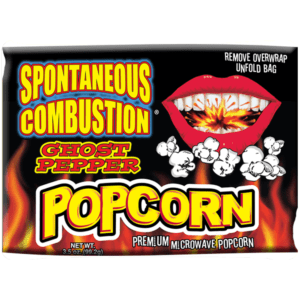 Spontaneous Combustion Ghost Pepper Popcorn