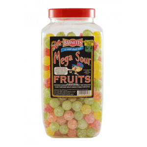 Barnetts Mega Sour Assorted Fruit Calgary