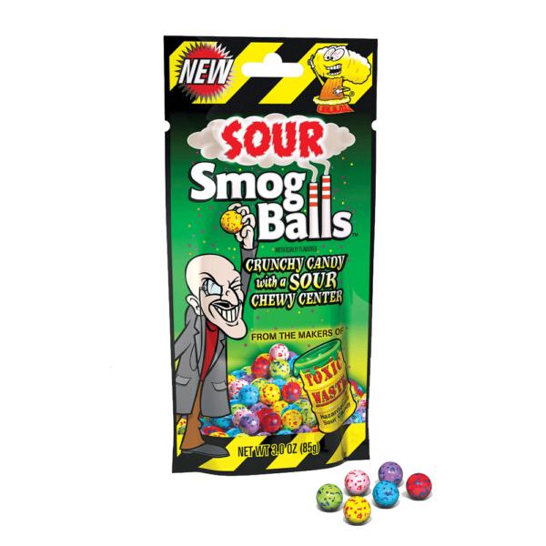 toxic waste smog balls Calgary
